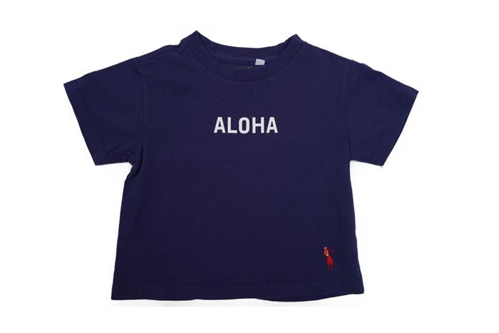 ショートスリーブTシャツALOHA(kids)