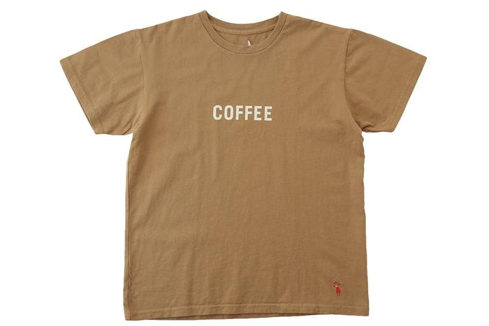 ショートスリーブTシャツCOFFEE